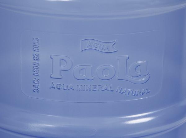 Galão retornável de 20 litros Personalizado - Água Paola
